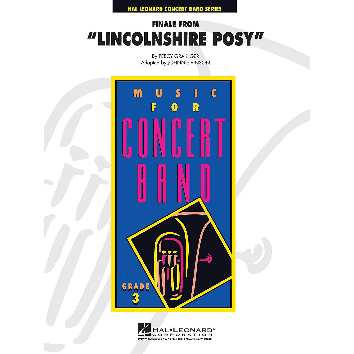 Hal Leonard Lincolnshire Posy, Finale From - Young Concert Band Level 3 arranged by Johnnie Vinson thumbnail