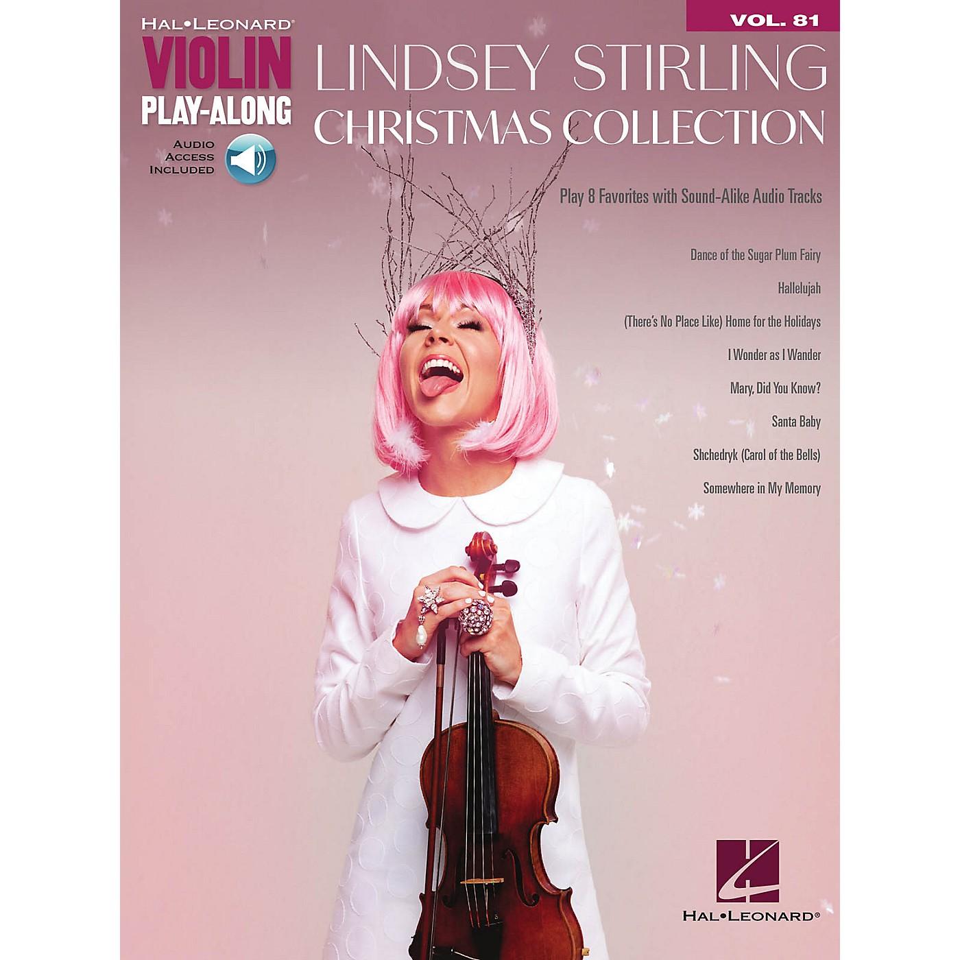 Hal Leonard Lindsey Stirling - Christmas Collection Violin Play-Along Volume 81 Book/Audio Online thumbnail