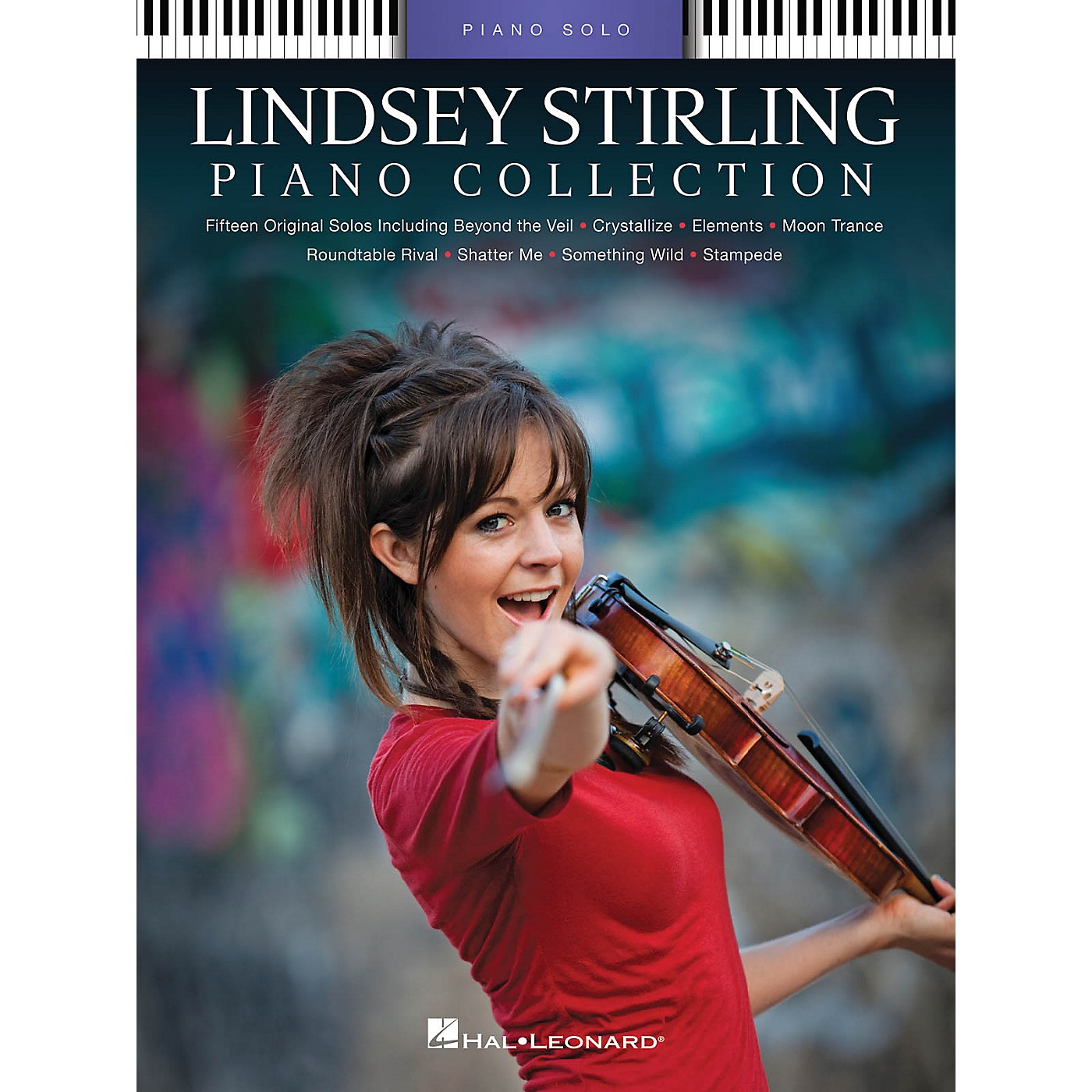 Hal Leonard Lindsey Stirling - Piano Collection Piano Solo Personality Series Softcover Performed by Lindsey Stirling thumbnail