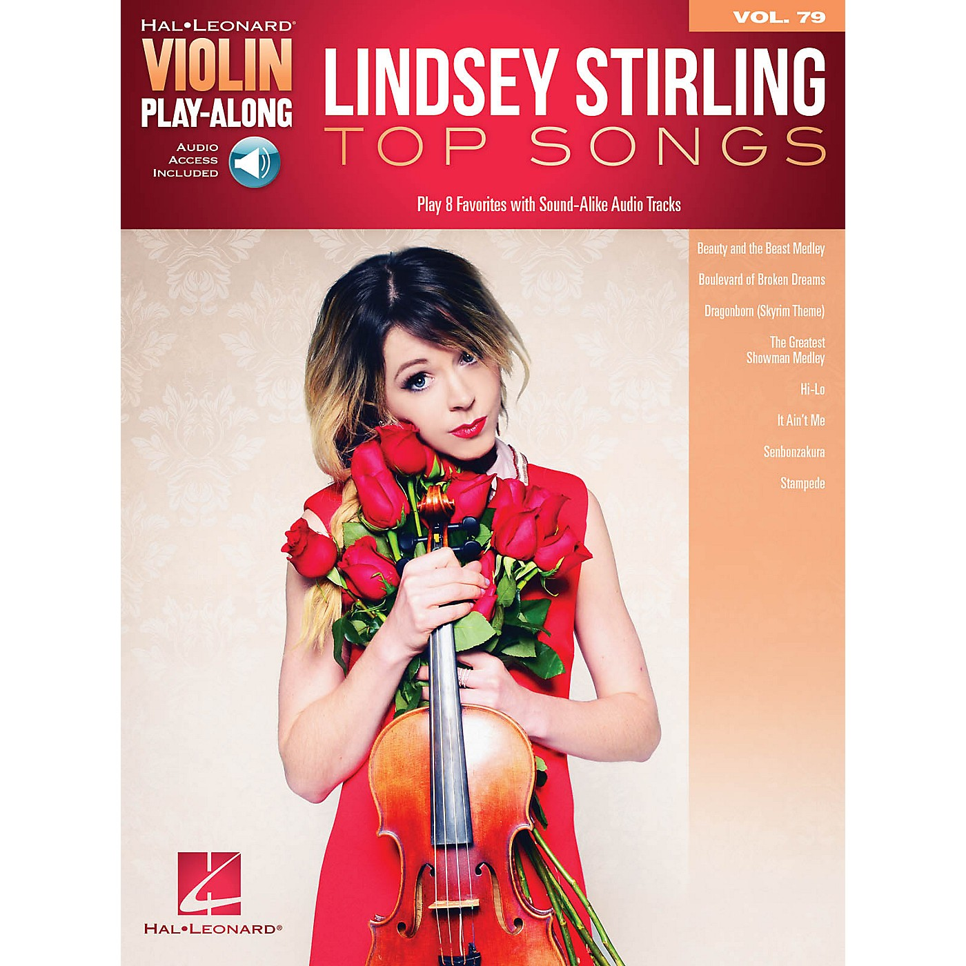 Hal Leonard Lindsey Stirling - Top Songs Violin Play-Along Volume 79 Book/Audio Online thumbnail