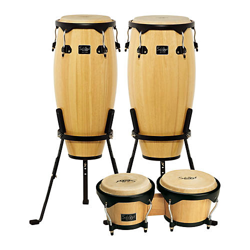 Schalloch Linea 100 Series 2-Piece Conga Set with Bongos thumbnail