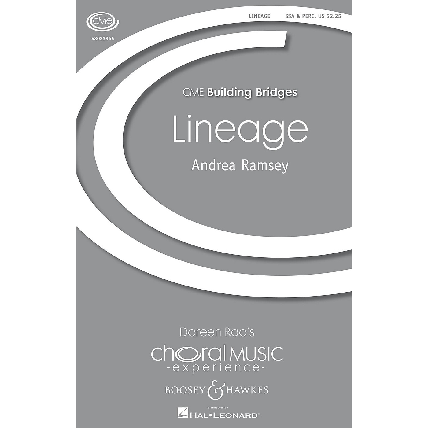 Boosey and Hawkes Lineage (CME Building Bridges) SSA composed by Andrea Ramsey thumbnail