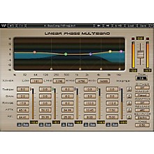 Waves Linear Phase Multiband Compressor Native/TDM/SG Software Download