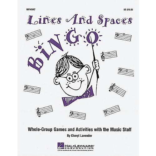 Hal Leonard Lines And Spaces Bingo (Game) thumbnail