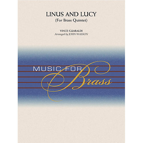 Hal Leonard Linus and Lucy Concert Band Level 3-4 Arranged by John Wasson thumbnail