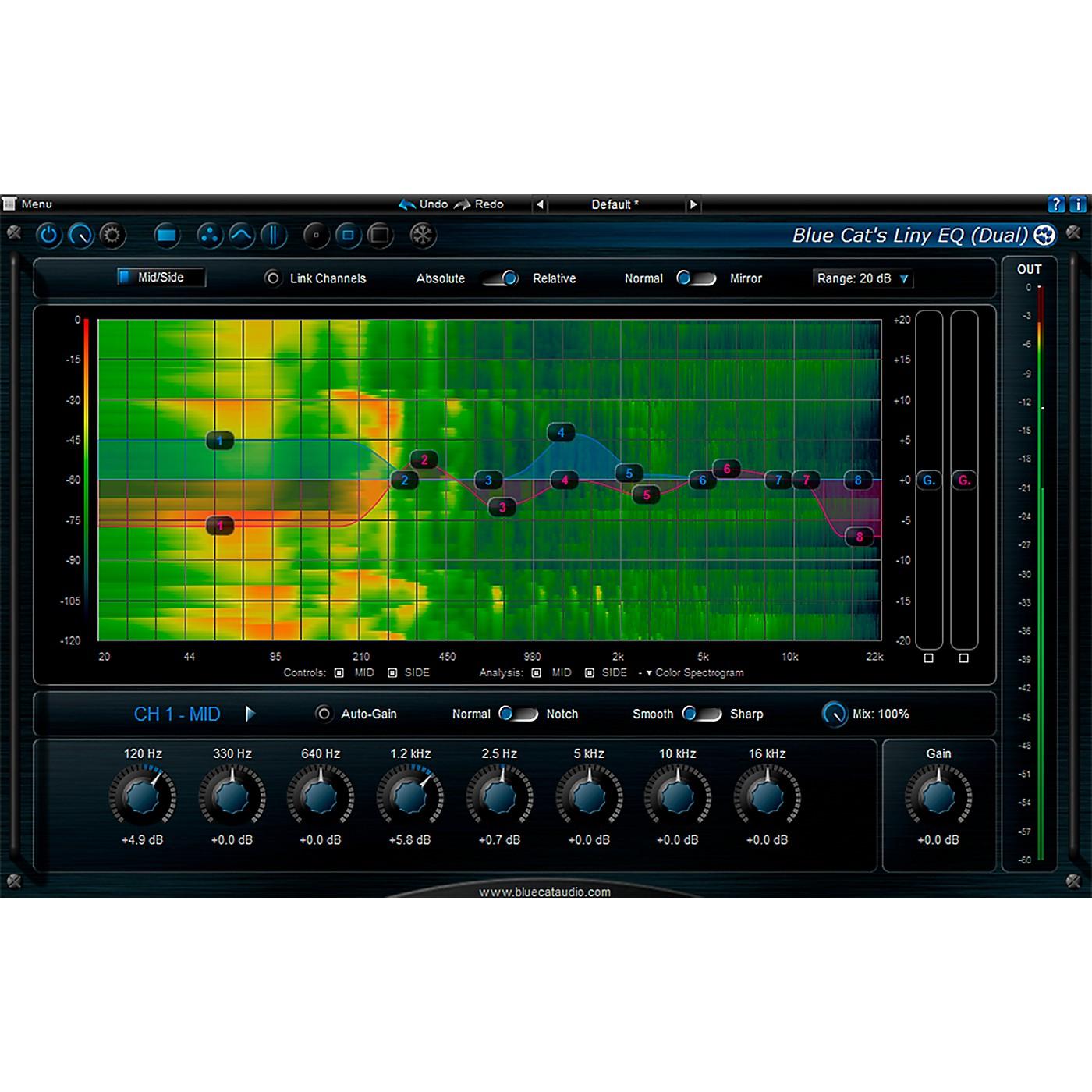 Blue Cat Audio Liny EQ Graphic Equalizer thumbnail