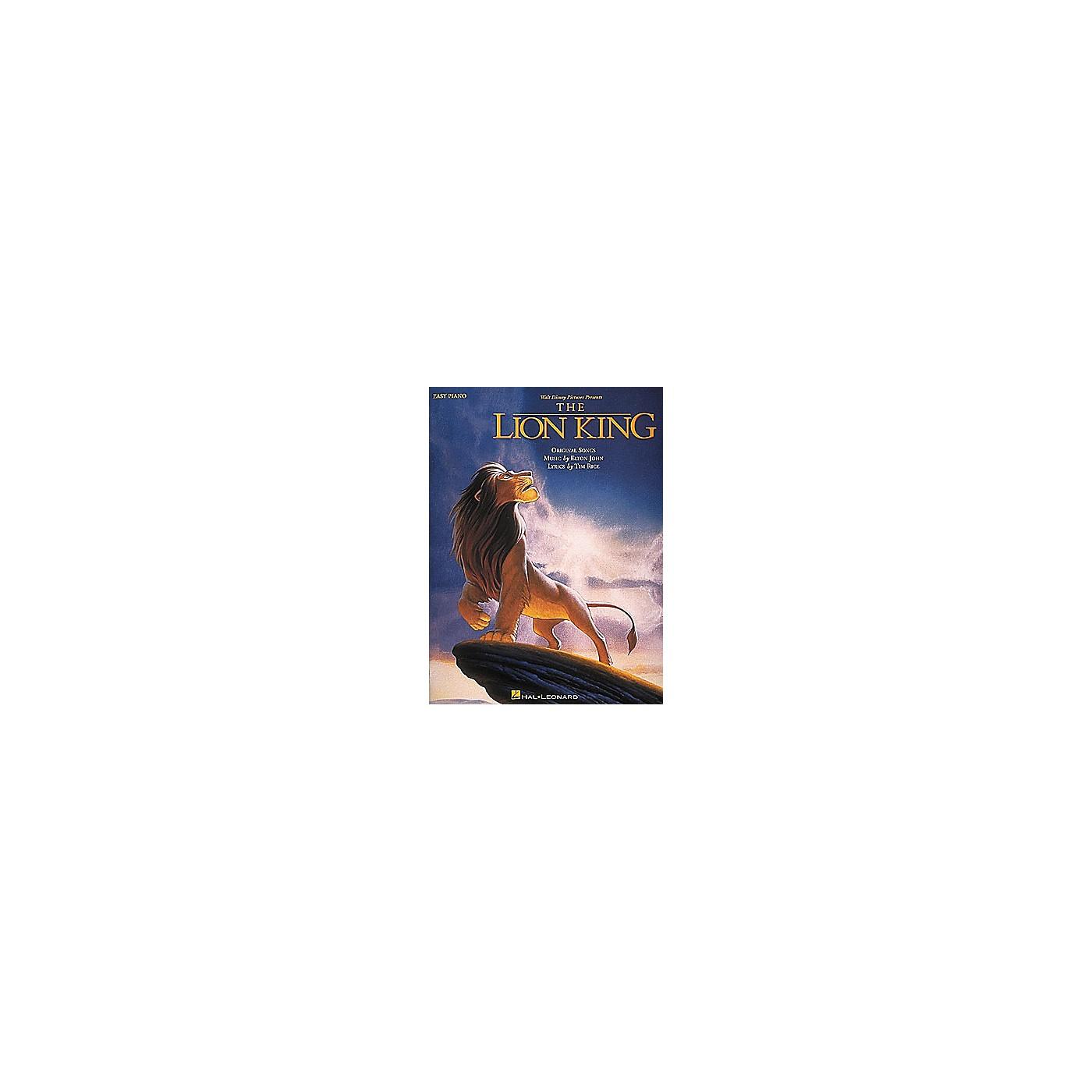 Hal Leonard Lion King For Easy Piano thumbnail
