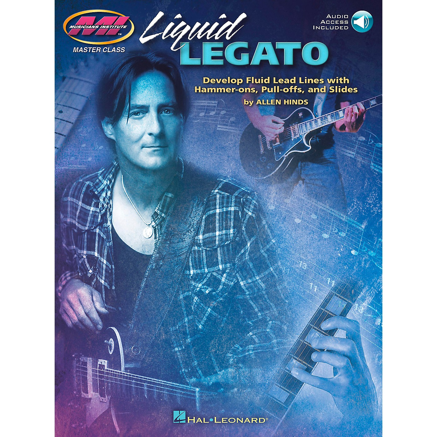 Hal Leonard Liquid Legato - Develop Fluid Lead Lines with Hammer-Ons, Pull-Offs and Slides Book/CD thumbnail
