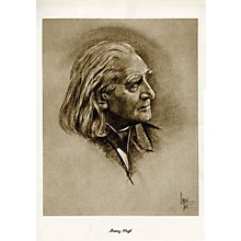 Music Sales Liszt (Lupas Large Portrait Poster) Music Sales America Series