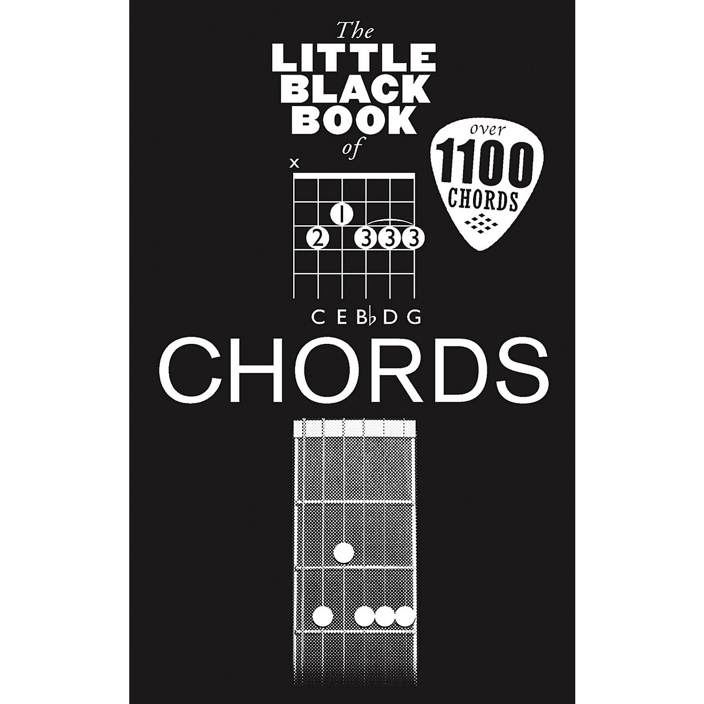 Music Sales Little Black Book Of Chords - Guitar thumbnail