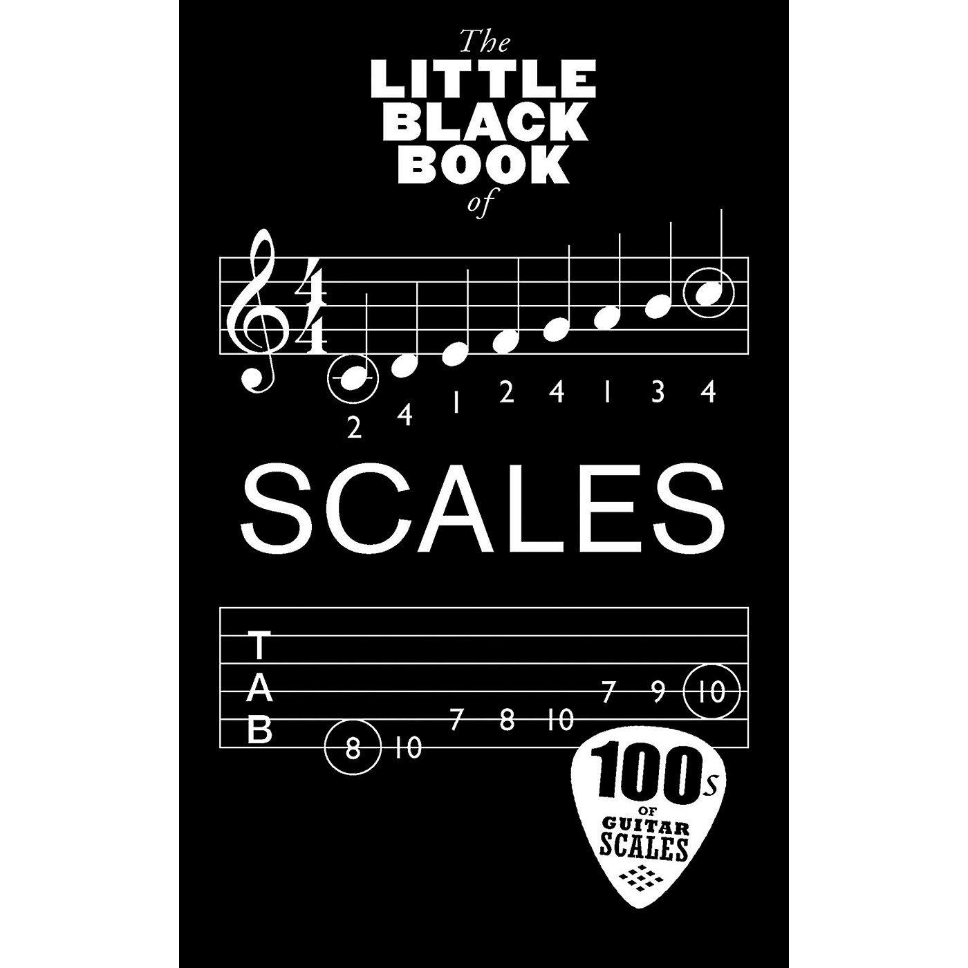Music Sales Little Black Book Of Scales - Guitar thumbnail