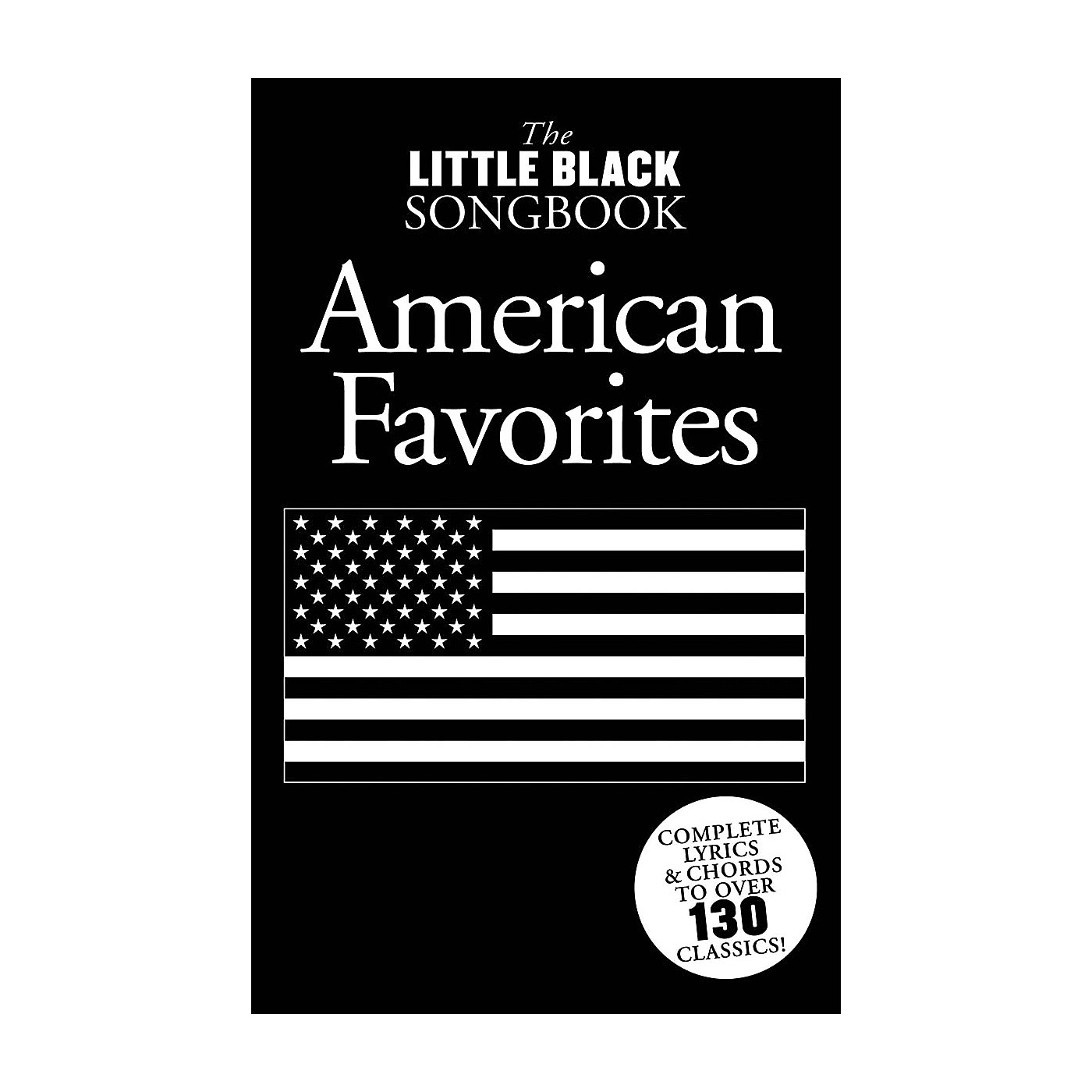 Music Sales Little Black Songbook of American Favorites The Little Black Songbook Series Softcover thumbnail