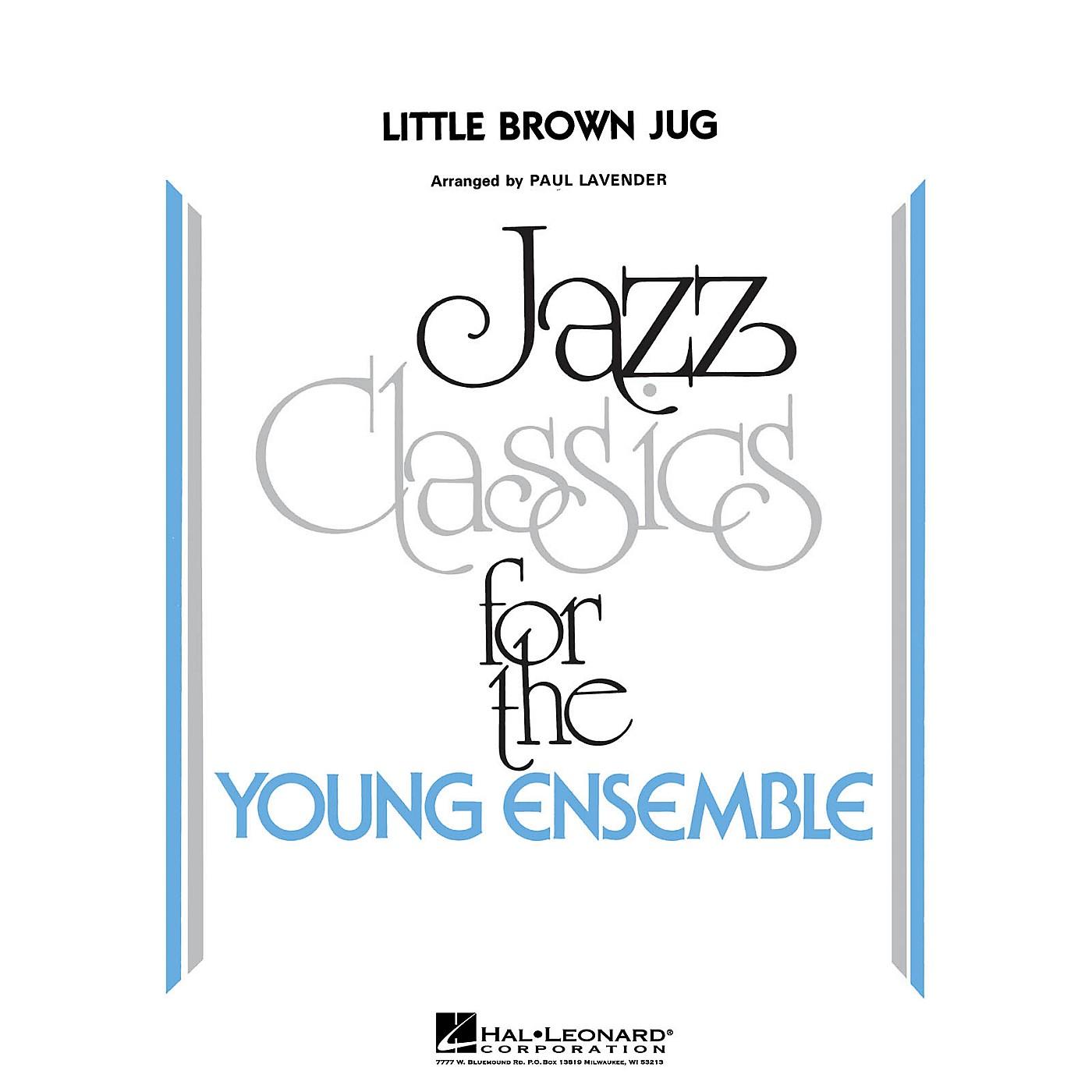 Hal Leonard Little Brown Jug Jazz Band Level 3 Arranged by Paul Lavender thumbnail