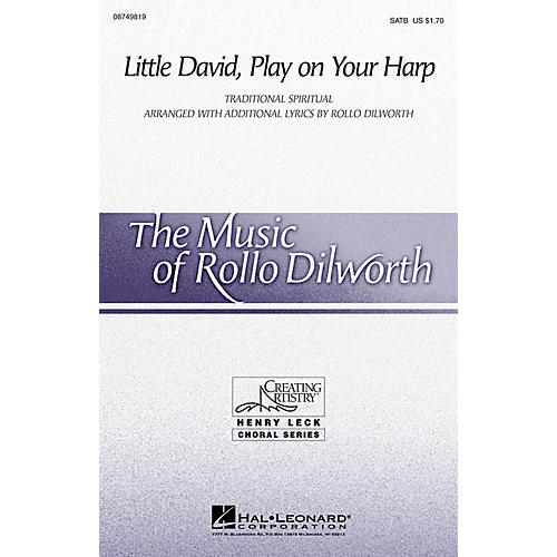 Hal Leonard Little David, Play on Your Harp 2-Part Arranged by Rollo Dilworth thumbnail