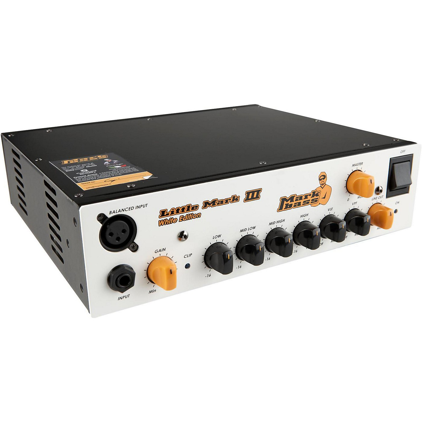 Markbass Little Mark III Limited Edition 500W Solid State Bass Head thumbnail
