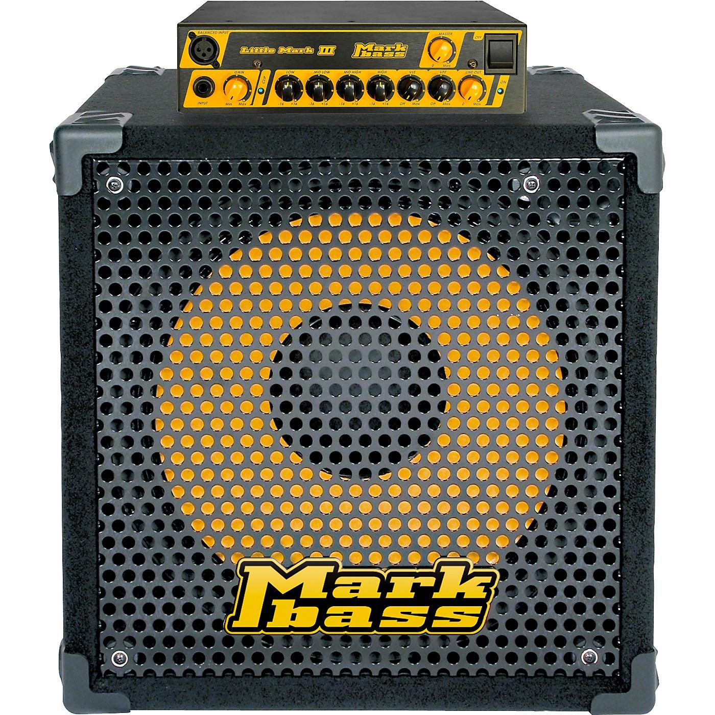 Markbass Little Mark III and New York 151 Bass Stack thumbnail