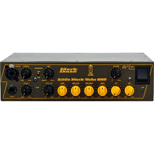 Markbass Little Mark Tube 800 Bass Amp Head thumbnail