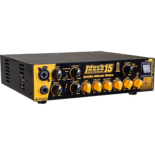 Markbass Little Mark Tube Anniversary 15 500W Bass Amp Head-thumbnail