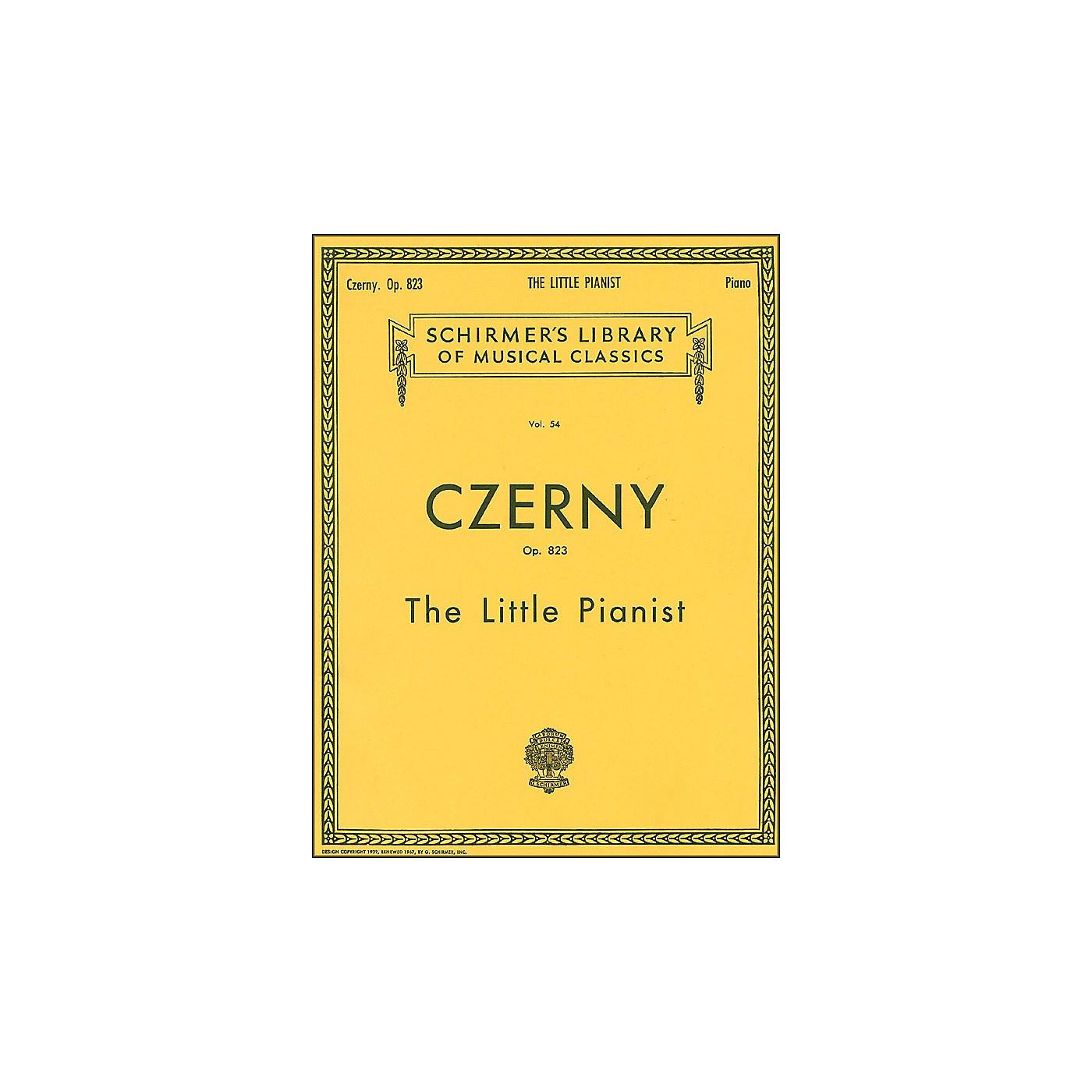G. Schirmer Little Pianist Op 823 Piano Complete By Czerny thumbnail