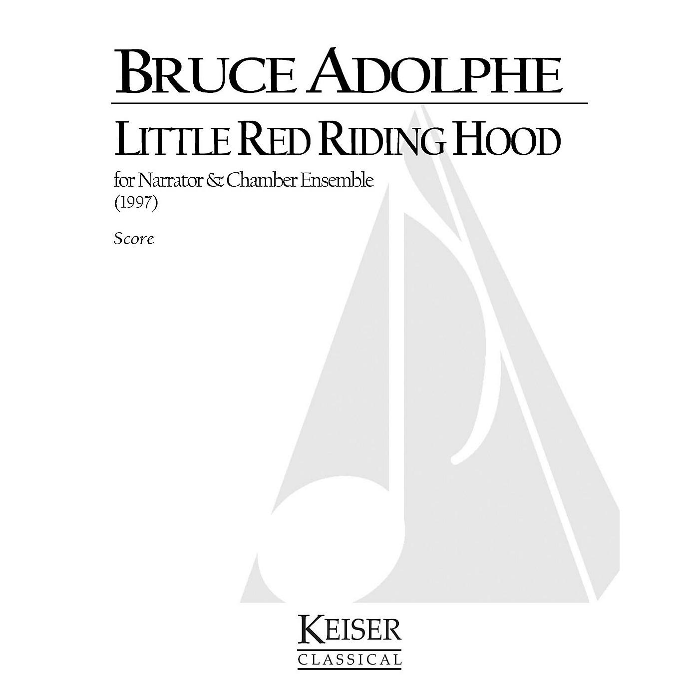Lauren Keiser Music Publishing Little Red Riding Hood LKM Music Series  by Bruce Adolphe thumbnail