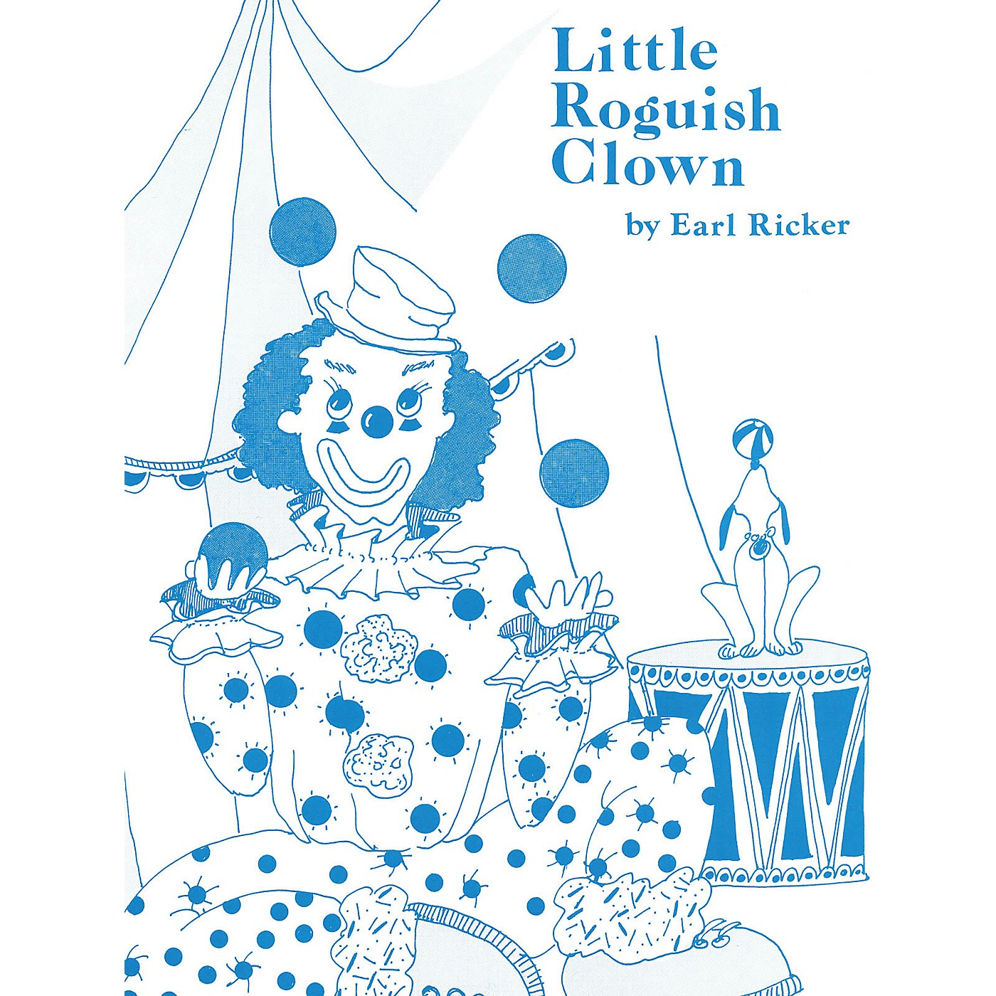 Lee Roberts Little Roguish Clown (Recital Series for Piano, Blue (Book I)) Pace Piano Education Series by Earl Ricker thumbnail