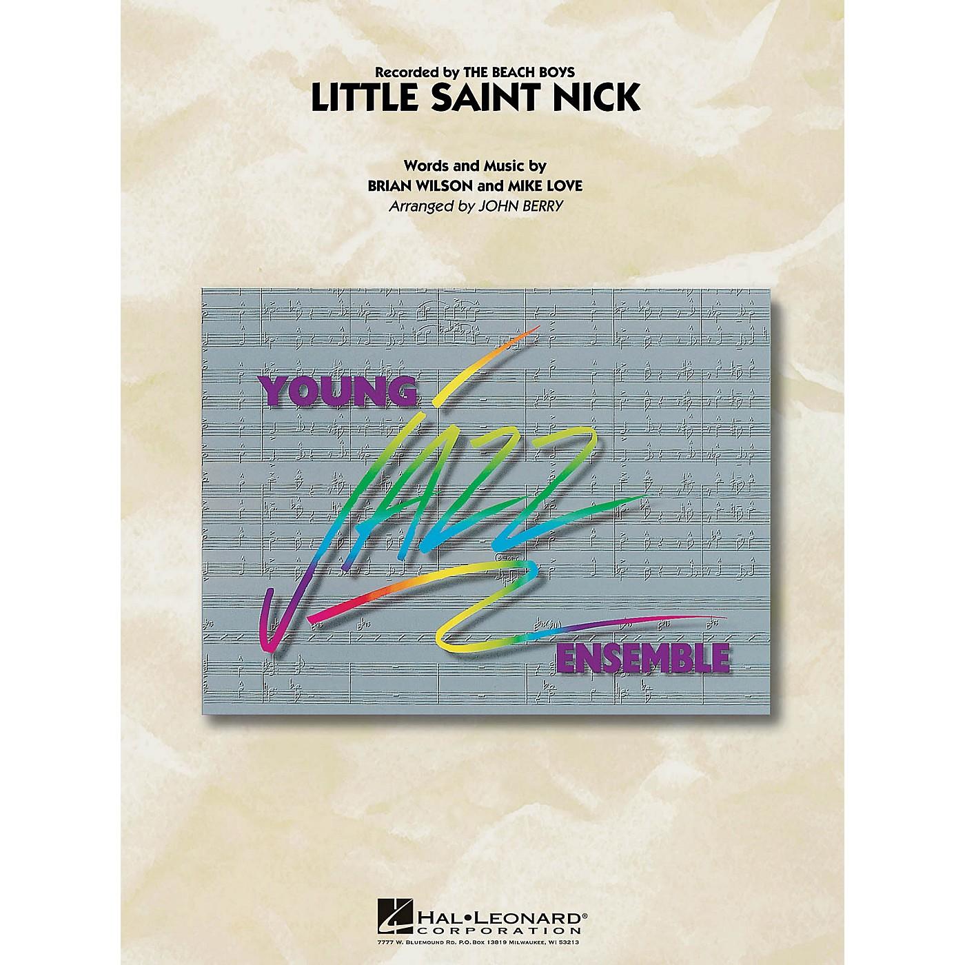 Hal Leonard Little Saint Nick Jazz Band Level 3 Arranged by John Berry thumbnail