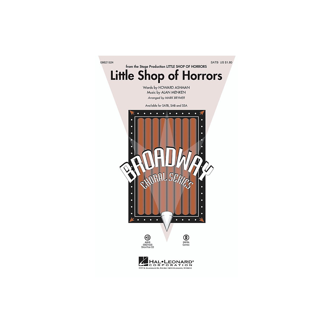 Hal Leonard Little Shop of Horrors SAB Arranged by Mark Brymer thumbnail