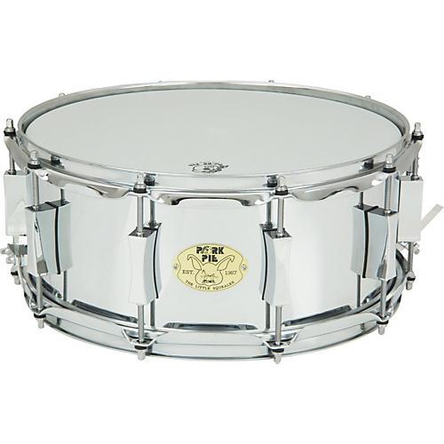 Pork Pie Little Squealer Steel Snare Drum-thumbnail
