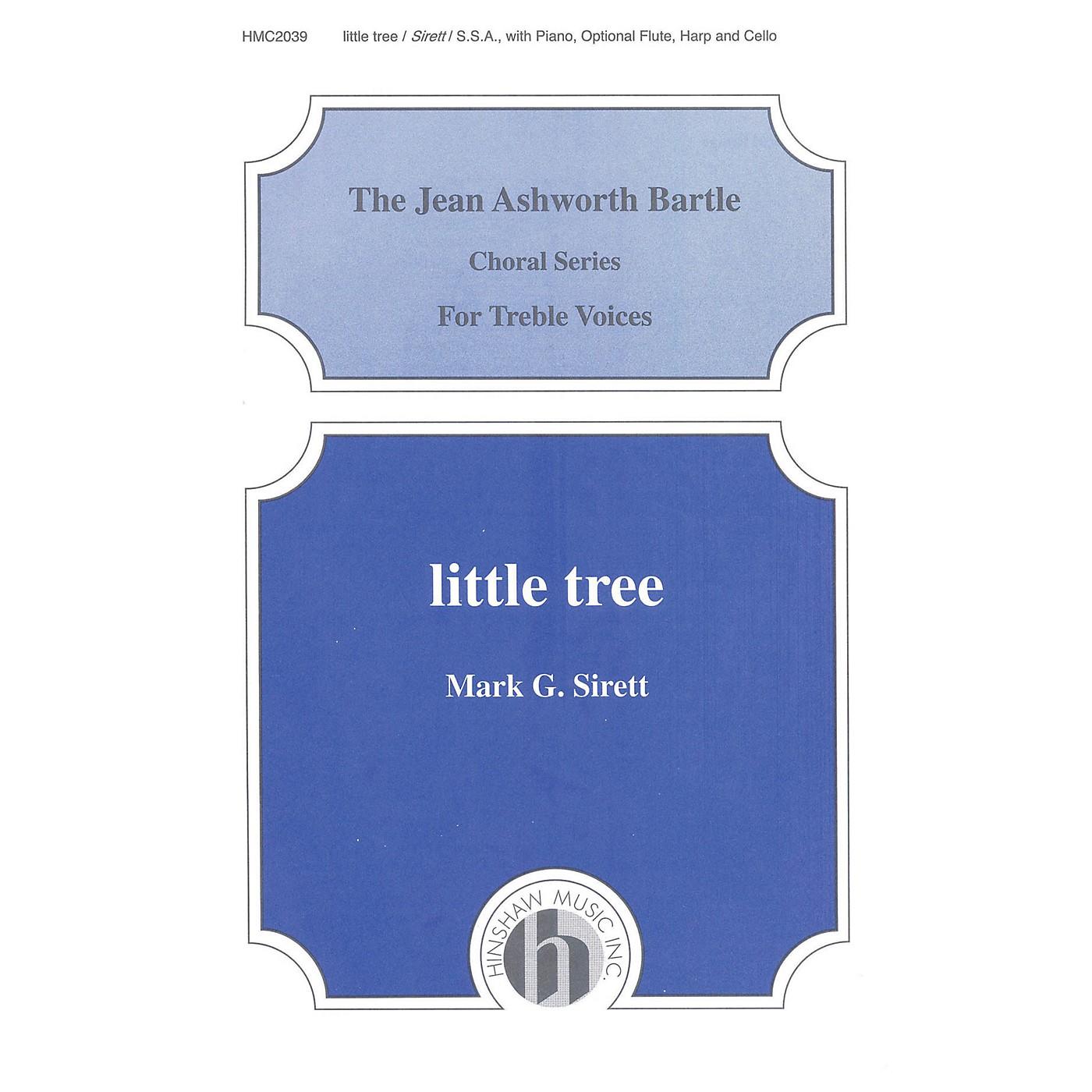 Hinshaw Music Little Tree SSA composed by Mark Sirett thumbnail