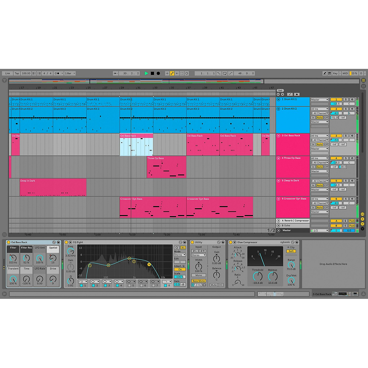 Ableton Live 10 Standard - Upgrade From Live 1-9 Standard (Software Download) thumbnail