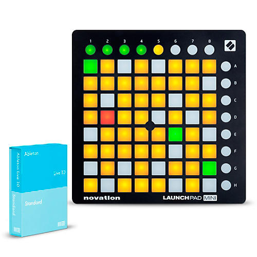 Ableton Live 10 Standard with Novation Launchpad Mini MKII thumbnail