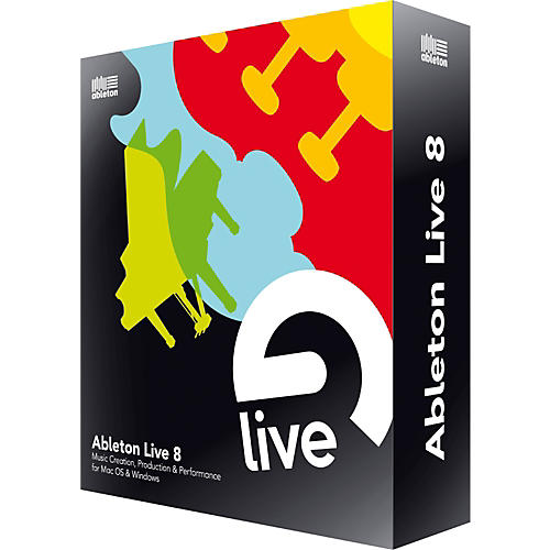 Ableton Live 8 Upgrade from Live 1-6 thumbnail