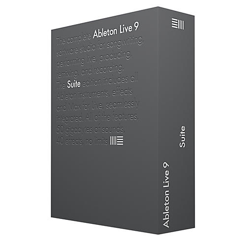 Ableton Live 9 Suite Upgrade from Live Lite thumbnail