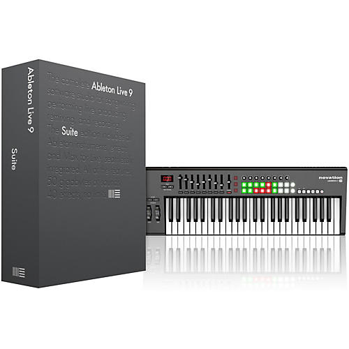 Ableton Live 9 Suite(Boxed) with Novation Launchkey 49 thumbnail
