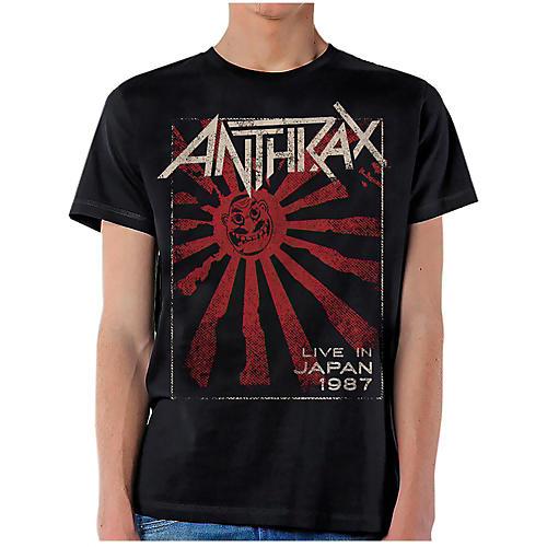 Anthrax Live in Japan T-Shirt thumbnail