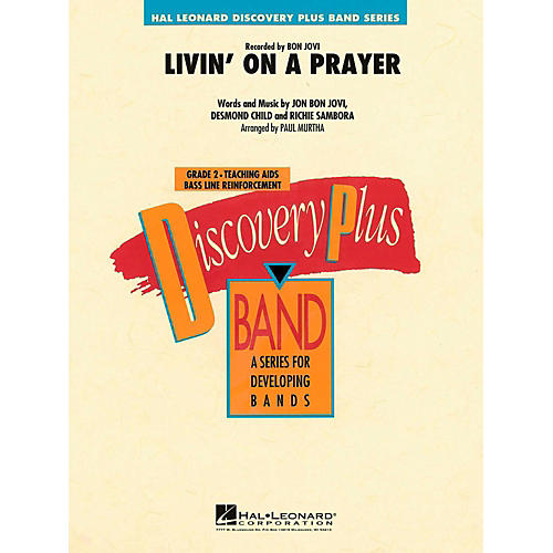 Hal Leonard Livin' On A Prayer Concert Band Level 2 thumbnail