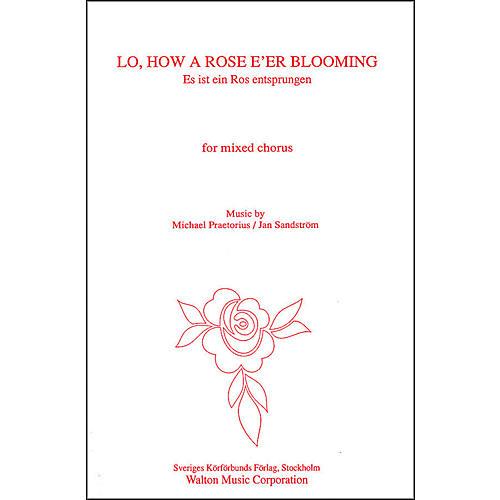 Walton Music Lo How A Rose E'er Blooming SATB thumbnail