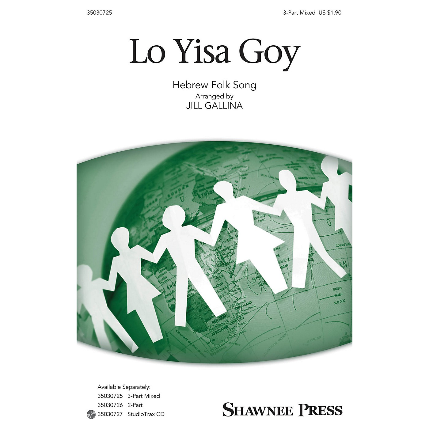 Shawnee Press Lo Yisa Goy Studiotrax CD Arranged by Jill Gallina thumbnail