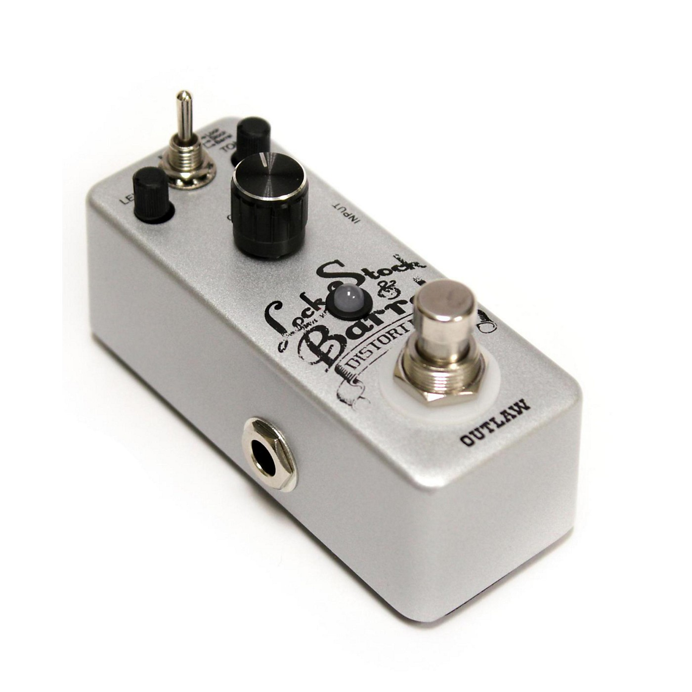 Outlaw Effects Lock-Stock-Barrel Guitar Distoriton Pedal thumbnail