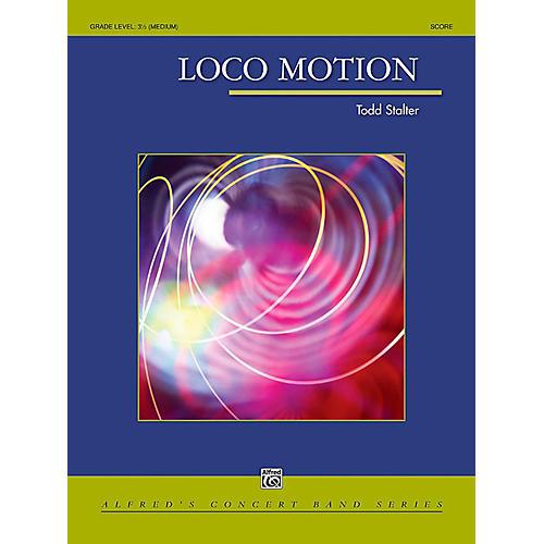 Alfred Loco Motion Concert Band Grade 3.5 (Medium) thumbnail