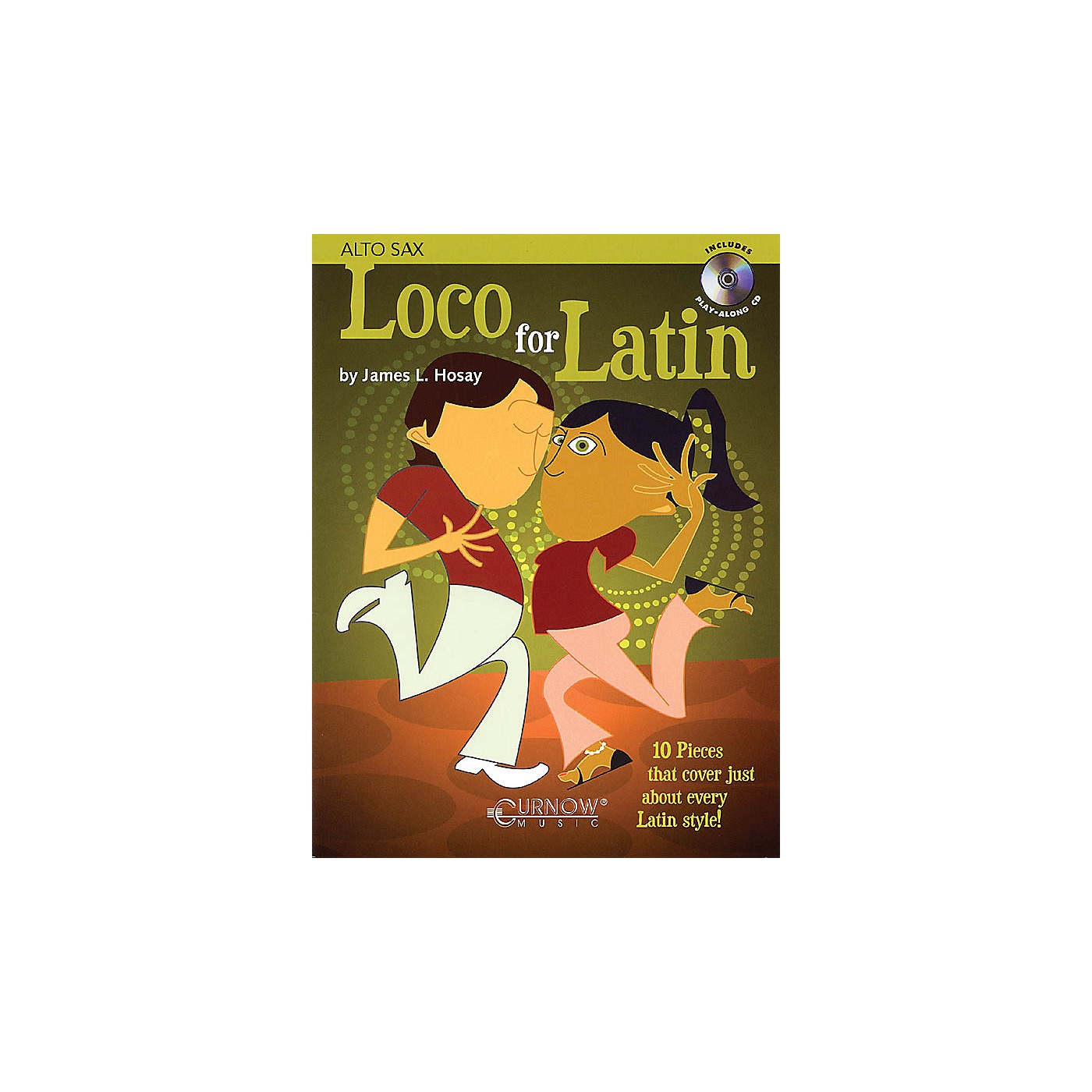Curnow Music Loco for Latin (Alto Saxophone - Grade 3 - Book/CD Pack) Concert Band Level 3 thumbnail