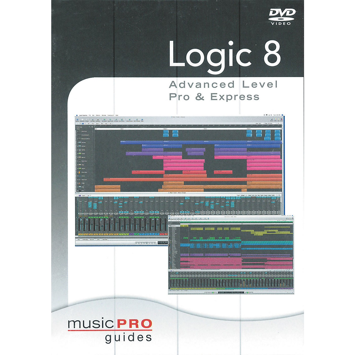 Hal Leonard Logic 8 Advanced Level Pro & Express - Music Pro Series (DVD) thumbnail