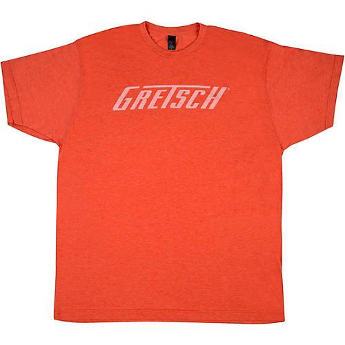 Gretsch Logo Heather Orange T-Shirt thumbnail