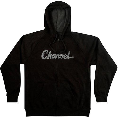 Charvel Logo Hoodie - Charcoal thumbnail