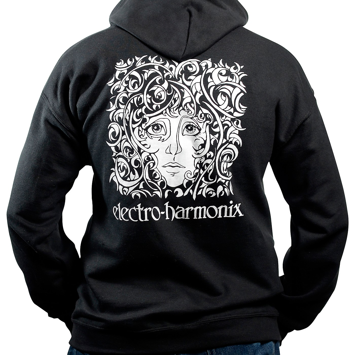 Electro-Harmonix Logo Hoodie, Black thumbnail