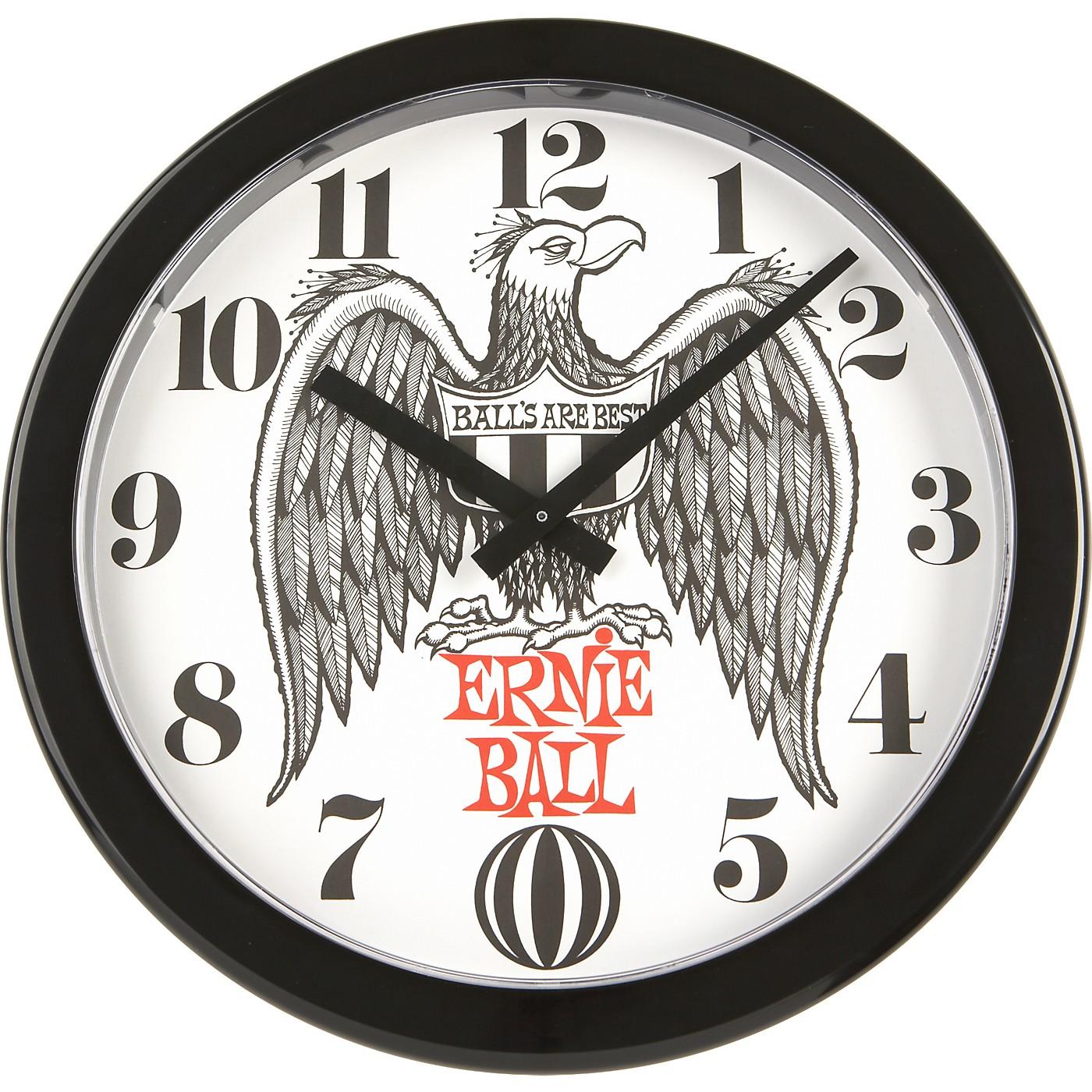Ernie Ball Logo Wall Clock thumbnail