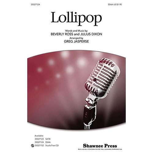 Shawnee Press Lollipop SSA arranged by Greg Jasperse thumbnail