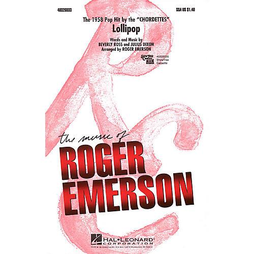 Hal Leonard Lollipop SSA by Chordettes arranged by Roger Emerson thumbnail