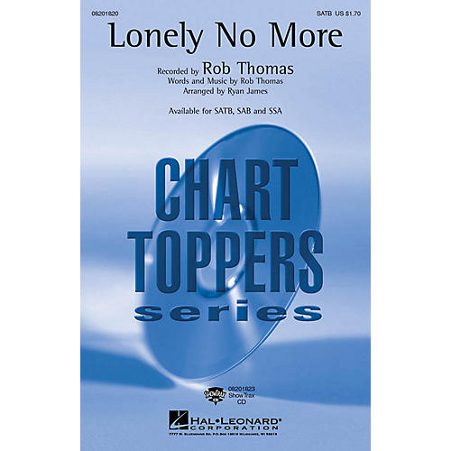 Hal Leonard Lonely No More ShowTrax CD Arranged by Ryan James thumbnail