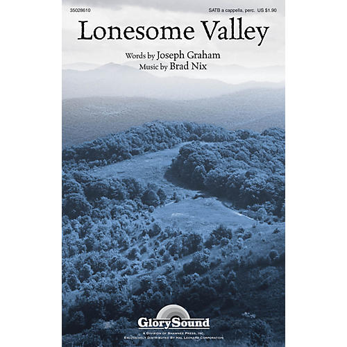 Shawnee Press Lonesome Valley SATB composed by Brad Nix thumbnail